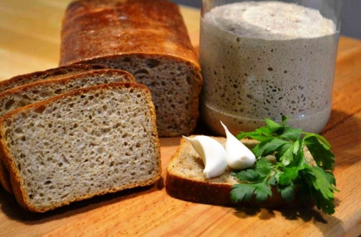 хлеб с закваской