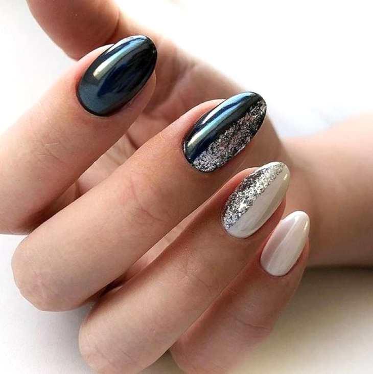 Интересные варианты покрытия ногтей 2020 года1