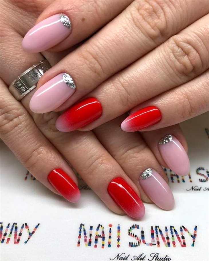 Интересные варианты покрытия ногтей 2020 года15