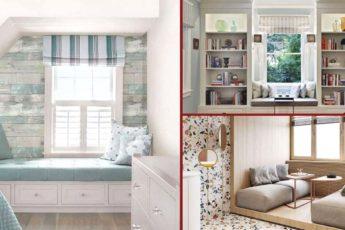 Зона отдыха у окна: удачные примеры оформления