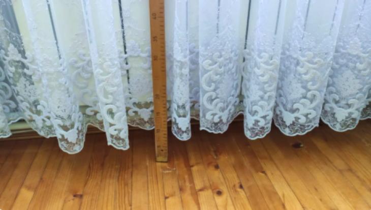 как увеличить длину штор