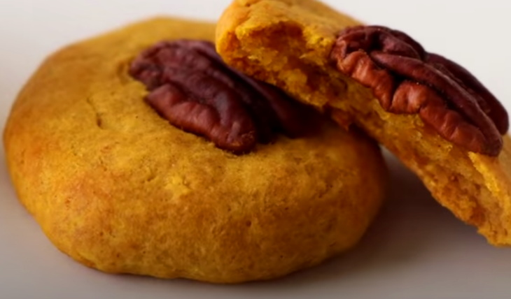 Рецепты из тыквы: Печенье