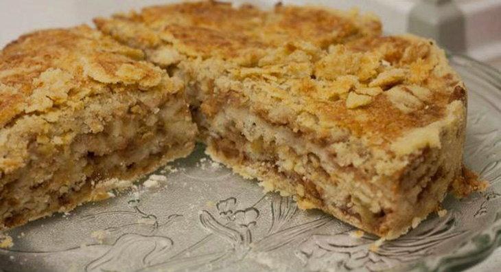 Болгарский пирог из яблок