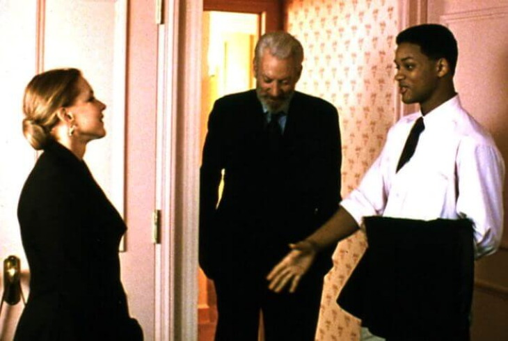 Кадр из фильма Шесть степеней отчуждения