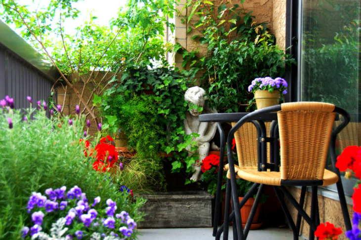 балкон: уютный уголок