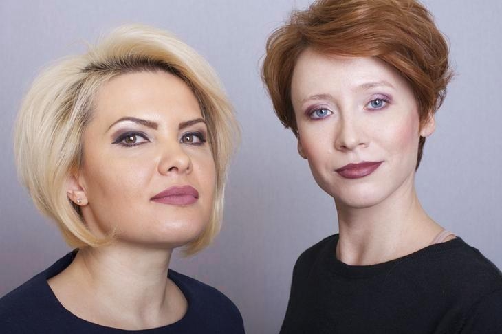 Как сбросить десяток лет поменяв прическу и макияж