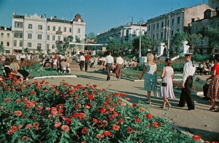 фото советских времен: улица