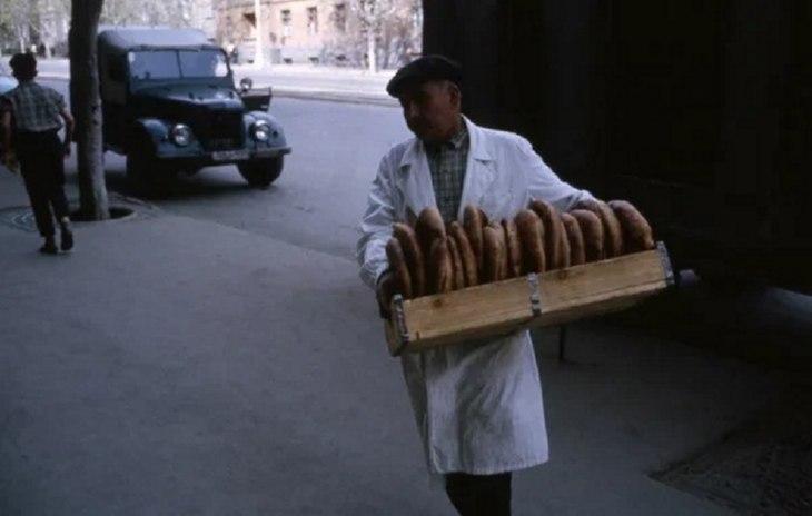 фото советских времен: аромат хлеба