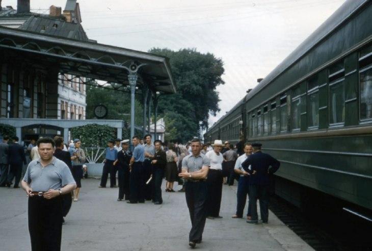 фото советских времен: вокзал