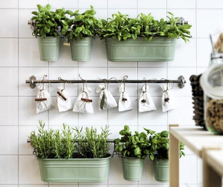 подставка под цветы: Кухонные рейлинги