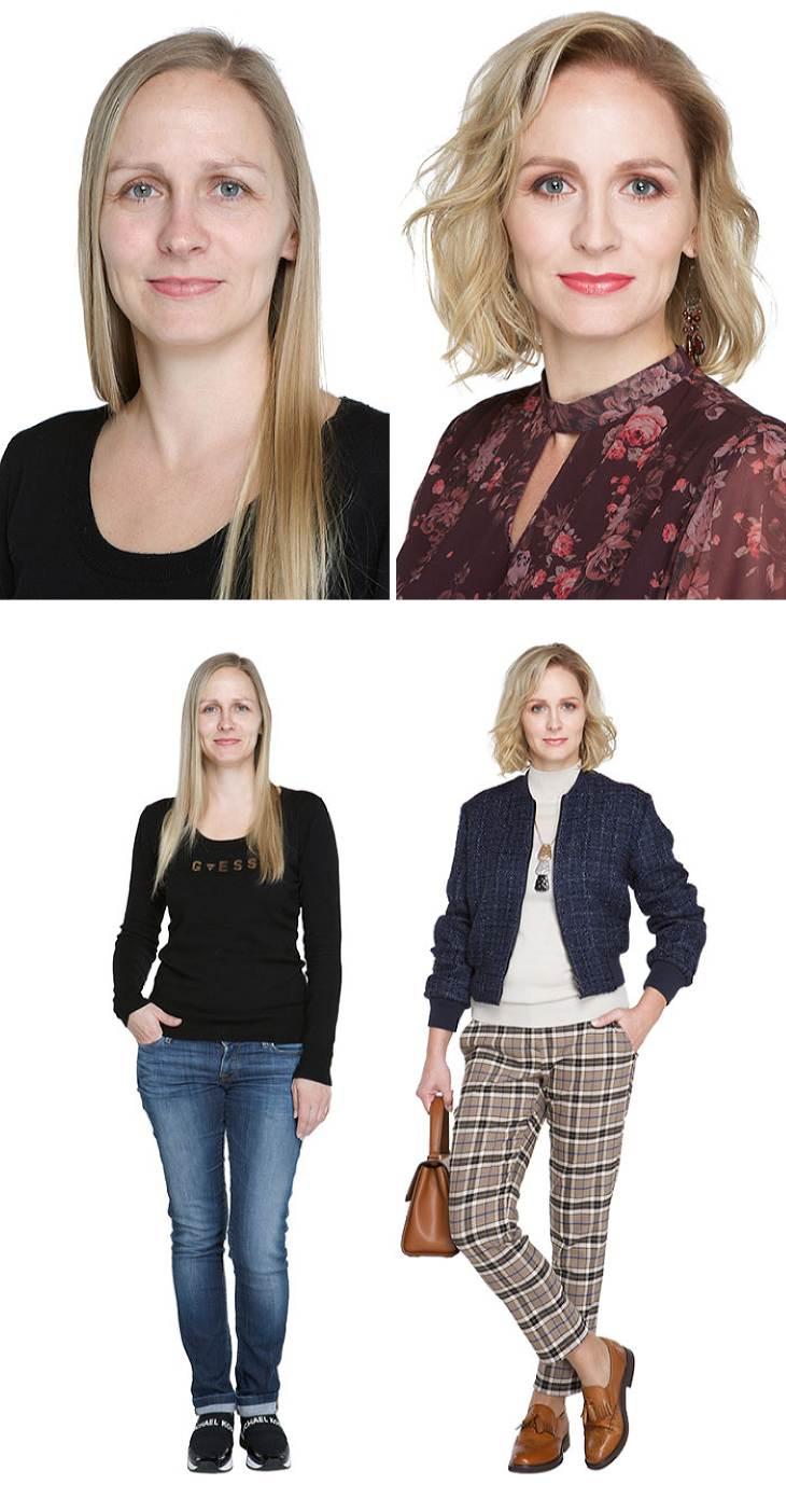 Восхитительные преображения: 20 прекрасных образов до и после работы стилиста